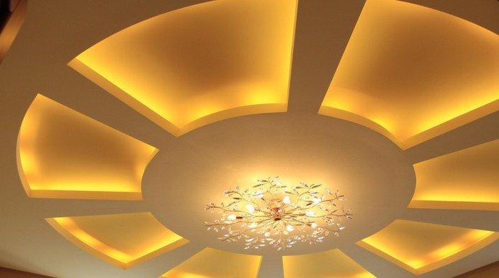 Как выбрать светильники для подвесных потолков