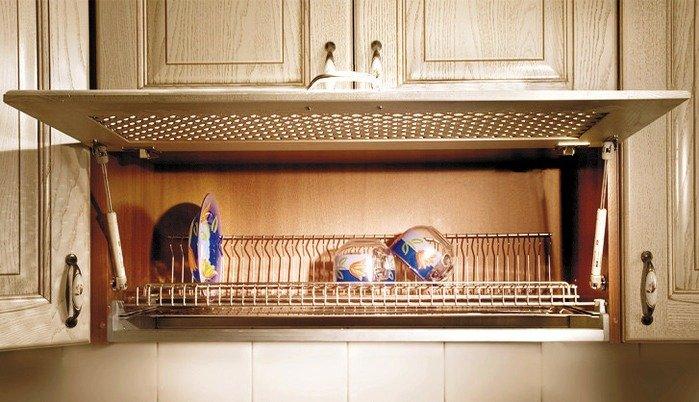 Организация сушки и хранения посуды