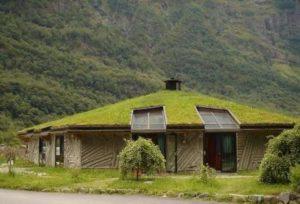 дерновая крыша
